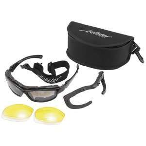 Road Hog II Convertible and Interchangeable Sunglasses, Black BRH2001