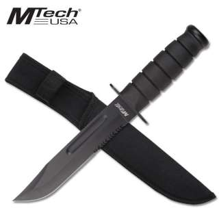 NEW! Mtech Kabar Style Black Military Combat Knife