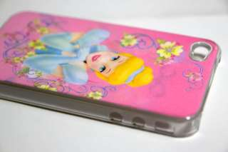 Disney Princess Cinderella & Belle Aurora Beauty Girls Hard Case for