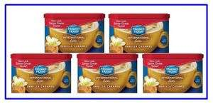 Maxwell House International coffee Vanilla Caramel Latte 8.7 oz each