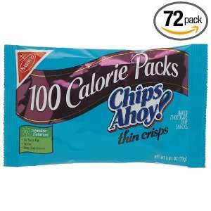 Nabisco Chips Ahoy 100 Calorie Pack Thin: Grocery & Gourmet Food