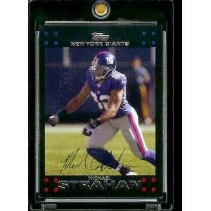Topps Football # 260 Michael Strahan   New York Giants   NFL Trading