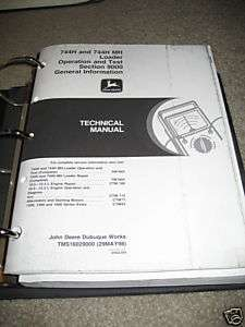 JOHN DEERE 744H/744H MH O&T TECHNICAL SERVICE MANUAL |