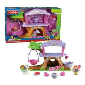 Fisher Price Little People Fairy Treehouse Tree House 027084751451