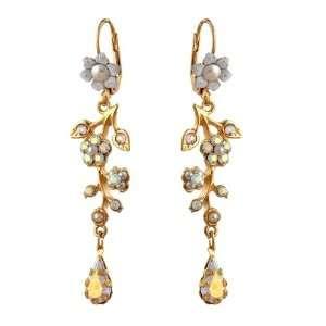 Michal Negrin Fancy 24Karat Gold Plated Dangle Earrings Beautifully