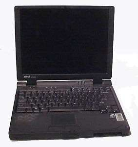 Dell Latitude CSx P3 500MHz Laptop For Parts or Rebuild