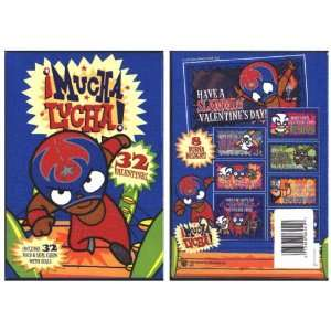 Mucha Lucha 32 Valentines Day Cards Toys & Games