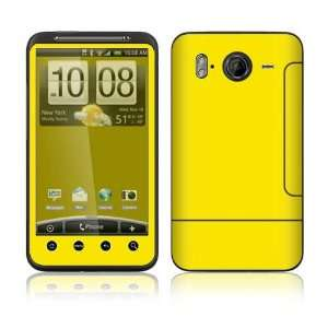 Simply Yellow Decorative Skin Cover Decal Sticker for HTC