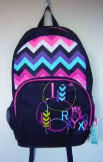 Pink White Yellow Blue Black Design Laptop Computer Backpack Book Bag