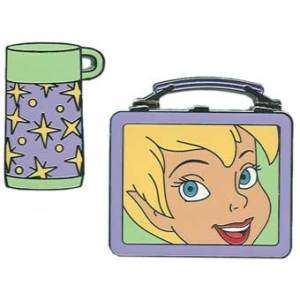 TINKER BELL Tink THERMOS+LUNCHBOX 2 PIN SET Disney