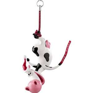 Carlton Heirloom 2011 Moo ey Christmas   Cow a Bunga Ornament