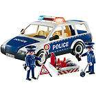 playmobil police playset patrol car ships free with a $