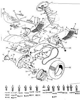 CRAFTSMAN Tractor Schematic diagram tractor Parts Model 917258661 on sears suburban 12 engine swap, sears garden tractor attachments, craftsman lt1000 parts diagram, sears suburban 12 tractor, sears suburban garden tractor 16 hp, sears suburban 12 carburetor, sears suburban 12 headlights, sears suburban 12 parts,