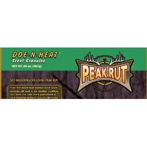 Buck attractant PeakRut Doe N Heat Scent Granules 22 oz
