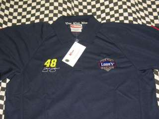 Jimmie Johnson #48 Polo style shirt by Chase Sizes available