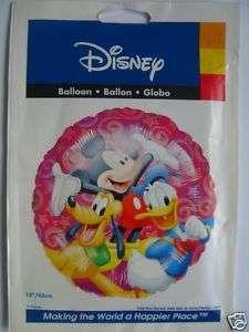 MICKEY MOUSE(Donald Duck/Pluto)(18)Foil Balloon{DI HF}