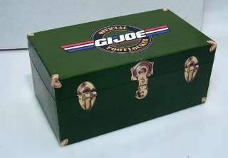 Official GI JOE Footlocker  Boxed Deluxe Trading Card Set