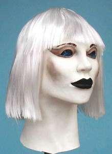 Be Female Honka White Hood Foam Latex Mask Rubber Masks