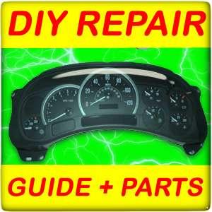 03 04 05 Chevrolet Silverado Instrument Cluster DIY GUIDE+Motors+