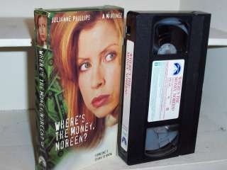 Wheres the Money, Noreen? (1995) vhs Julianne Phillips 097368347137