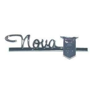 63 64 CHEVY II/Nova GLOVE BOX DOOR EMBLEM Automotive
