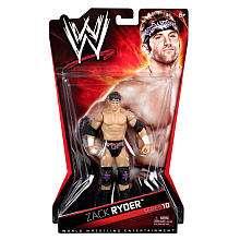 WWE Series 10 Action Figure   Zack Ryder   Mattel