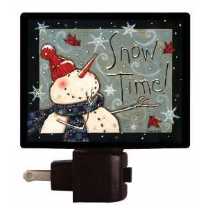 Snowman Night Light   Snow Time Home Improvement