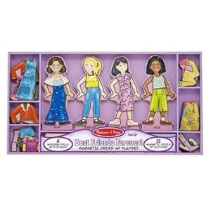 Best Friends Forever Magnetic Dress Toys & Games