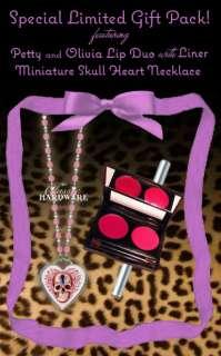 HANNAH AITCHISON Lipcolor/Necklace Pink Limited Combo