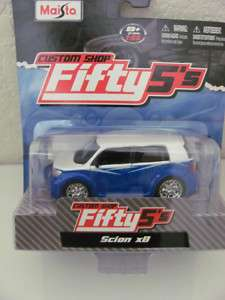 MAISTO CUSTOM SHOP FIFTY5S SCION XB WHITE SERIES 10.1