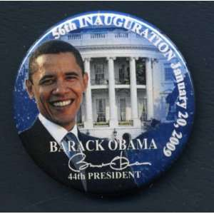 barack obama inaguration 2.25 button pin pinback