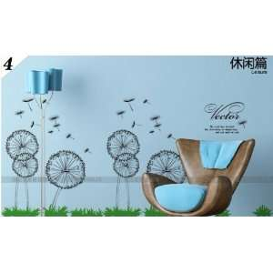 Reusable/removable Decoration Wall Sticker Decal  Large