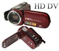 Red HD Digital Video Camcorder Camera DV 2.7 TFT 12 MP