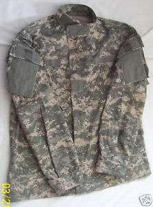 Combat Uniform Shirt Coat Small Regular Military Issue 50/50