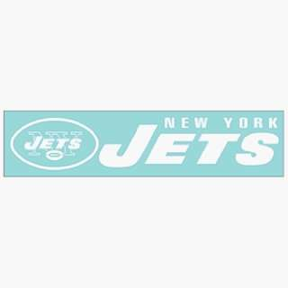NFL New York Jets 4x16 Die Cut Decal