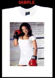 LAILA ALI CUSTOM PHOTO T SHIRT TEE muhammad boxing T267