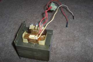 MT MICROWAVE H.V. TRANSFORMER   PART # DE26 00125A (MM)