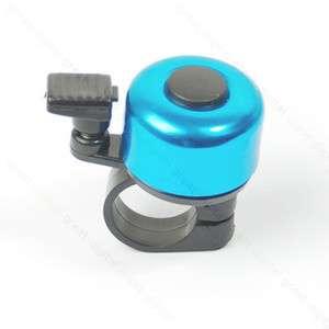 Metal Ring Handlebar Bell Sound for Bike Bicycle Blue