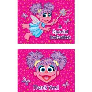 Abby Cadabby Invitations and Thank You Notes Toys & Games