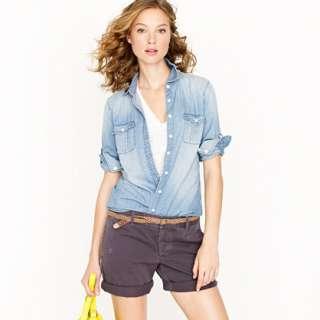 Keeper chambray shirt   casual shirts   Womens shirts & tops   J.Crew