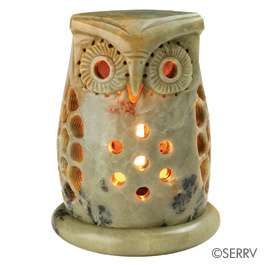 Stone Owl Tea Light Holder   Fair Trade Winds: Valentines Day