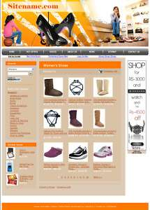 Money Making Women Shoes  Store Website for Sale
