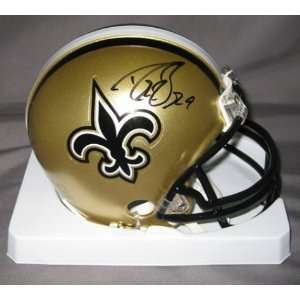 Drew Brees New Orleans Saints NFL Hand Signed Mini