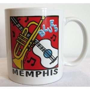 Memphis Mug Souvenir Ceramic Coffee Cup Collectible Gift