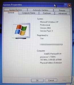 HP COMPAQ NC6120 1GB 40GB LAPTOP NOTEBOOK WINDOWS XP COMPUTER