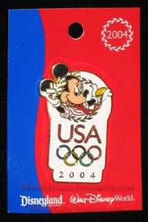 WALT DISNEY WORLD 2004 MINNIE MOUSE OLYMPIC PIN
