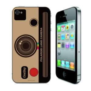 Polaroid land Camera iPhone 4 Skin Sticker Decal vinyl