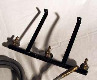 Weber BBQ Genesis 3000 Natural Gas Manifold, Hose, and side burner