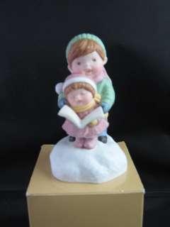 Avon 1985 Joy to the World Musical Porcelain Figurine