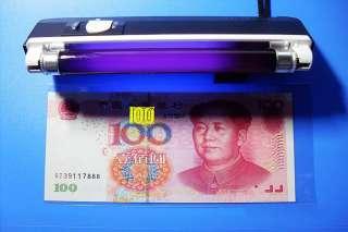 New Portable UV Light LED Torch Lamp Flashlight Money Currency